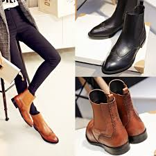 2015 autumn boots chelsea boots with low ankle shoes