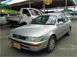 toyota corolla sedan 1993 toyota corolla 1993 gli 1 6 in กร งเทพและปร มณฑล automatic sedan