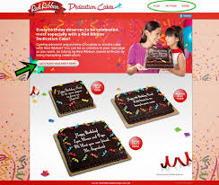 red ribbon dedication cakes and the birthday budget planner