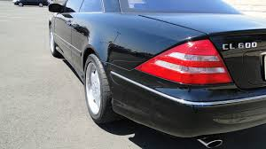 2002 mercedes benz cl600 coupe w82 dallas 2013