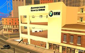 bmw dealership bmw dealership for gta san andreas