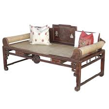 antique chippendale style opium daybed cor globally inspired