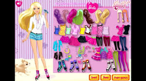 dressup and makeup games barbie 2016 x