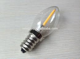 mini 2200k 120v c7 0 5watt e12 filament led christmas lights bulb