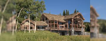 big sky luxury log home plan