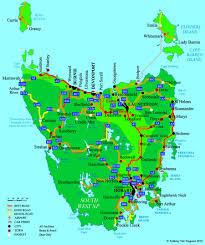 map of tasmania australia map of australia with tasmania at roundtripticket me