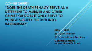 quotes about death penalty cost prezi u201cdoes the death penalty serve as a deterrent to murder and