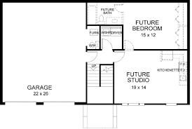 split entry floor plans traditional house plan 3 bedrooms 2 bath 1459 sq ft plan 4 117