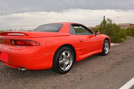dodge stealth red rare rides this 1995 mitsubishi 3000gt vr 4 can go