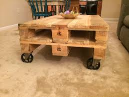 Caster Coffee Table 11 Exles Of Diy Furniture With Caster Wheels
