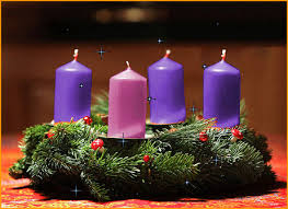 advent wreath candles reflections on the advent german world