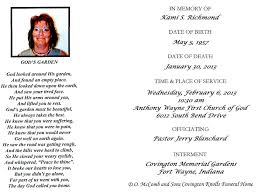 baldwin fairchild winter garden acgsi funeral card collection