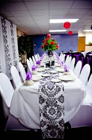 spandex chair cover rentals event black white spandex chair covers purple satin sashes