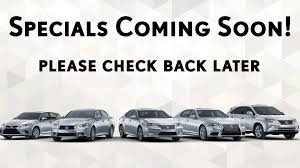 lexus pre owned rates preowned lexus specials in oakhurst nj