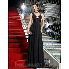 military ball australia formal evening dress black plus sizes