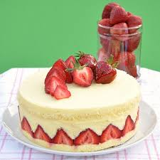french fraisier to celebrate my first blog birthday food lover u0027s