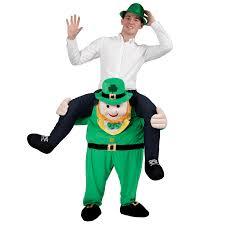 Halloween Costumes Monster High Shoes by Ride On Green Lucky Leprechaun Novelty Piggy Back Fancy Dress Up