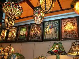 chandelier stained glass hanging lamp outdoor chandelier
