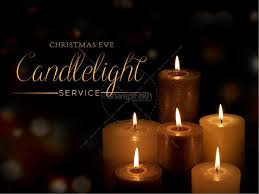 candlelight service religious bulletin bulletins for