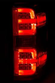 fiber optic tail lights 14 16 chevy silverado fiber optic led g2 performance tail lights black