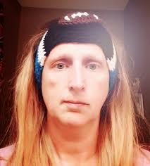 headband ponytail the stitch carolina panthers ponytail headband ear warmer