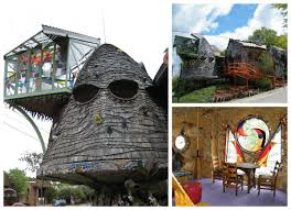 the mushroom house in cincinnati 22 weird houses that are