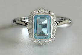 antique aquamarine engagement rings aquamarine engagement rings andino jewellery
