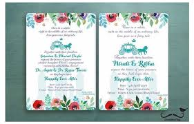 Unique Indian Wedding Cards Unique Indian Wedding Card Wordings For Your 2017 Wedding Wedmegood