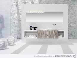 Modern White Bathroom Ideas 20 Exceptional And Stylish White Bathroom Designs Home Design Lover