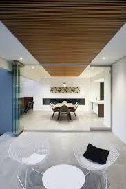 modern rectangular shaped house boasting an elegantly joyful