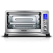 Toaster Oven Bread Amazon Com Toshiba Ac25cew Ss Digital Convection Oven 6 Slice