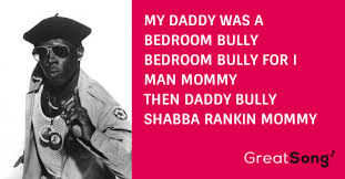 shabba ranks bedroom bully bedroom bully paroles shabba ranks greatsong