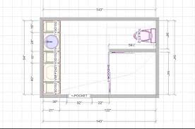 need help with bathroom floor plan