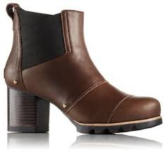 Most Comfortable Ankle Boots Women U0027s Addington Chelsea Block Heel Waterproof Leather Ankle Boot