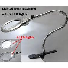 Lighted Desk Desk Magnifier With Led Lighting U2013 Kitchenlighting Co
