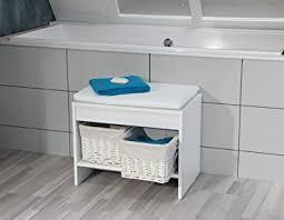 sitzbank für badezimmer fackelmann badhocker relax sitzbank fürs bad badmöbel maße