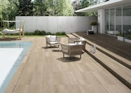 indoor outdoor porcelain stoneware wall floor tiles with wood