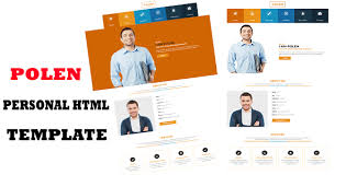 personal portfolio template polen personal portfolio u0026 vcard u0026 resume template themesmy com