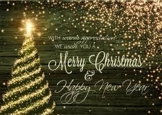 shop christmas cards for customer appreciation
