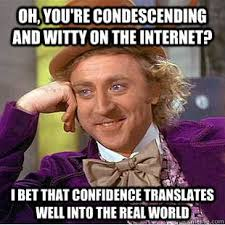 How To Post A Meme - condescending wonka i need to post this for a few people and