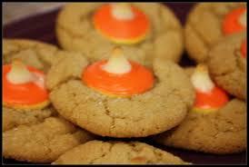 halloween hershey kisses candy corn hershey kiss cookies u2013 butter an eggs