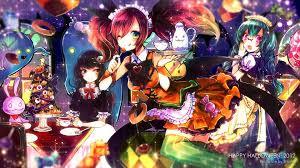 halloween background computer anime halloween 509394 walldevil