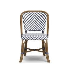 Single Bistro Chair Parisian Bistro Woven Side Chair Williams Sonoma