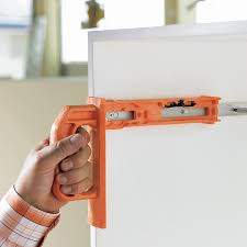 the blum minifix template is used for the precise positioning of