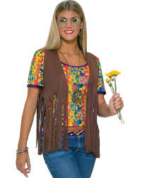 hairstyles for hippies of the 1960s hippie womens vest 1960s party ideas 60 s era pinterest