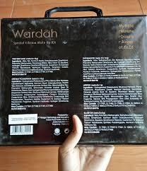 Wardah Kit review wardah spesial edition makeup kit mysistermonsterdisaster