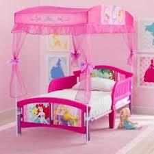 Pink Canopy Bed Disney Princess Canopy Ebay