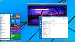 windows 8 bureau classique windows 9 microsoft présente officiellement un aperçu du menu démarrer