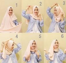 tutorial hijab pashmina untuk anak sekolah koleksi tutorial hijab pashmina pesta simple terpopuler citra