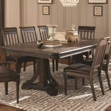Dining Room Accent Furniture Buy Carlsbad Dining Table With Metal Accents By Coaster From Www